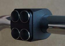 O2. Titaniac Armatur Switch CNC Lenkerschalter Lenkertaster Streetfighter  Paar
