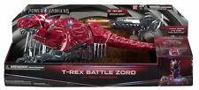 Power Rangers Zord batalla T-Rex de películas con Ranger Rojo