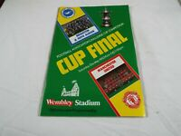 Manchester United V Brighton & Hove Albion Fa Cup-final 21 May 1983