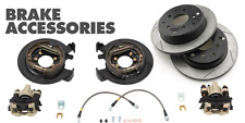 G2 Axle & Gear Rear Disc Brake Conversion Kit w/ Rotors 1987-06 Jeep TJ LJ YJ XJ
