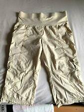 Motherhood Khaki Cargo Cotton Maternity Pants Size L