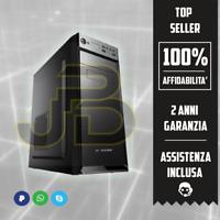 PC DESKTOP QUAD CORE INTEL RAM 8GB/HDD 1TB WINDOWS 10 + WIFI PC ASSEMBLATO