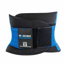 Proworks Adjustable Neoprene Lower Back Lumbar Waist Support Belt Brace Strap