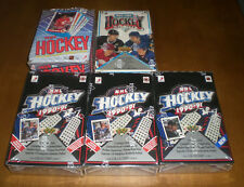 5  HOCKEY CARD UNOPENED WAX BOXES - UPPER DECK - TOPPS