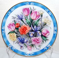 The Flowers of Holland Bouquets of the World The Danbury Mint Collectors Plate