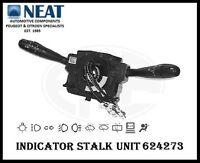 INDICATOR STALK WIPER SWITCH UNIT COMM 2000 FOR PEUGEOT 307 624273