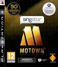 SINGSTAR MOTOWN  playstation 3  PS3   NUOVO
