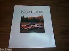 "MINT ORIGINAL 1995 FORD TRUCK SALES BROCHURE 11"" X 9"" (R-54)"