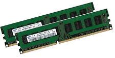 2x 4gb 8gb RAM Fujitsu Siemens esprimo p2560 (d3041) ddr3 1333 MHz pc3-10600u
