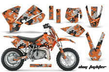 Dirt Bike Decal Graphics Kit Sticker Wrap For KTM SX50 SX 50 2002-2008 DOGFIGHT
