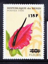 BENIN 2000 Michel 1236 1995 40fr Flower surcharged 135f unmounted mint cat eu200