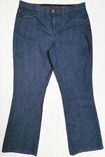 Lee women's jeans most comfortable dark wash bootcut embellish-pockets size 14 M