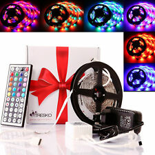 5 m RGB LED Stripe Leiste Streifen Band Leuchten Lichterkette SMD 3528
