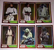 Journey to Star Wars the Force Awakens MIRROR FOIL CARDS - Pick the one you want