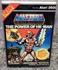 """Power of He-Man MAGNET 2"""" x 3"""" Refrigerator Locker Atari 2600 Vintage Game Box"""