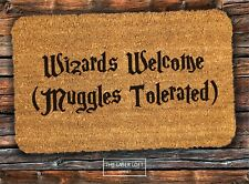 Harry Potter PVC Backed Novelty Funny Coir Door Mat 40cm x60cm