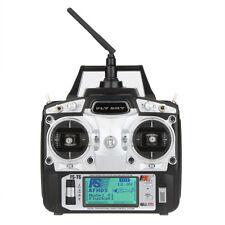F14912 Flysky FS-T6 6CH 2.4G LCD Transmitter R6B Receiver Digital Radio System