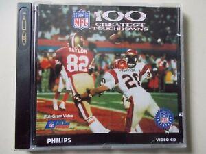 NFL 100 Greatest Táctil Downs , Philips Cd-I , #K-84-9