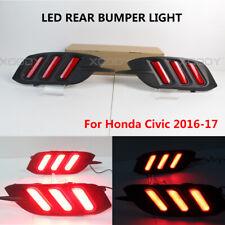 HO2882100 Fits 2016 2017 Honda Pilot Driver Side Back Up Tail Light NSF