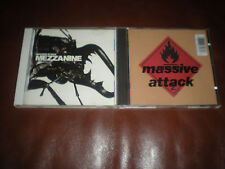 LOT DE 2 CD MASSIVE ATTACK - MEZZANINE + BLUE LINES