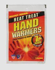 New 1pr Grabber Heat Treat 7hr HAND WARMER Gloves Boots Pocket Instant Heat HWES