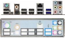 ATX pannello I/O Shield MSI 990fxa-gd65 #169 io NUOVO p67s-c43 p67a-s40 Backplate
