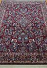 KARASTAN 700-785 RED SAROUKK WOOL AMERICAN CARPET AREA RUG  CLEANED  5.9 x 9