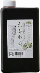 KAKISHIBU 1L Odorless Natural Persimmon Varnish TURNER COLOR