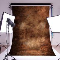 2.1x1.5m Vintage Braun Fotostudio Hintergrund Hintergrundstoff Background Brett