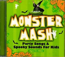 MONSTER MASH: PARTY SONGS & SPOOKY SOUNDS FOR KIDS! HALLOWEEN MUSIC & MORE! NEW!