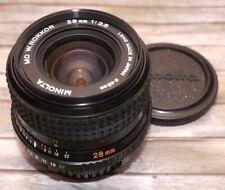 Minolta MD W ROKKOR 2,8/28mm nr1207111 très belle!