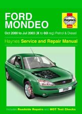 3990 Haynes Ford Mondeo Petrol & Diesel (Oct 2000 - Jul 2003) Workshop Manual