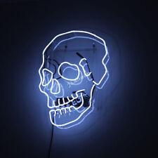 "New ""Horrible Skull "" Neon Light Sign Acrylic Wall Decor Handmade Visual Artwork"