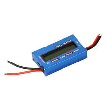 100A 60V DC RC Helicopter Airplane Battery Power Analyzer Watt Meter Balancer JT