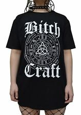 Luna Cult Bitch Craft T Shirt Gothic Occult kill witchcraft symbol star satanic
