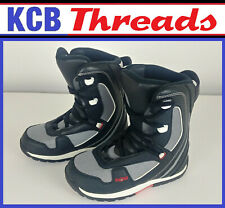 Fifty One Fifty 5150 Black Grey Red Snowboard Boots Kid's Boy's/ Girl's - Size 5