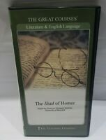The Great Courses: The Iliad Of Homer 2 DVDs + Course Guidebook Teaching Co.