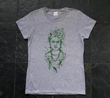 Frida Kahlo, Mexican Painter, surrealist, art - woman's SCREEN PRINTED T-SHIRT