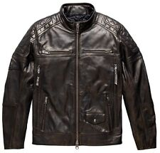 Harley Davidson Men's  Benson Bronze Leather Jacket. US XL New !