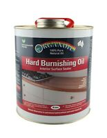Hard Burnishing Oil Organoil Interior Surface Sealer Natural Oil for benches