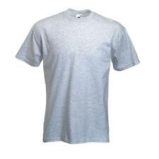 Camisetas de hombre grises Fruit of the Loom talla M