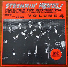 V/A - Strummin' Mental ! Vol 4 1957 to 1965 - LP Vinyl US 1987 SURF GARAGE