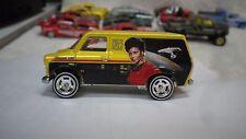 2016 Hot Wheels Yellow Star Trek Ford Transit Van Custom Real Riders