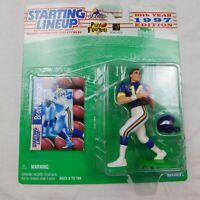 BRAD JOHNSON 1997 NFL Starting Lineup SLU Action Figure & Card MINNESOTA VIKINGS