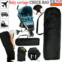 Pram Gate Check Pushchair Buggy Travel Bag Umbrella Stroller Waterproof Cover UK