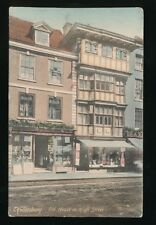 Gloucestershire Glos TEWKESBURY Old House in High St pre1919 PPC