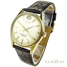 LONGINES CONQUEST VINTAGE GOLD CAP AUTOMATIC WRISTWATCH DATING CIRCA 1959