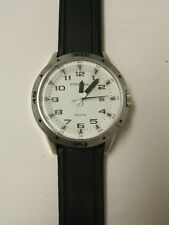 Fossil AM4278 Black Silicone Band Date Watch - PREOWN
