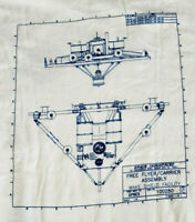 NASA Space Industries Shuttle Free Flyer Carrier Assembly Wake Shield Tee Shirt