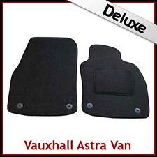 VAUXHALL ASTRA H Van 2004-2009 Tailored LUXURY 1300g Carpet Car Mats BLACK